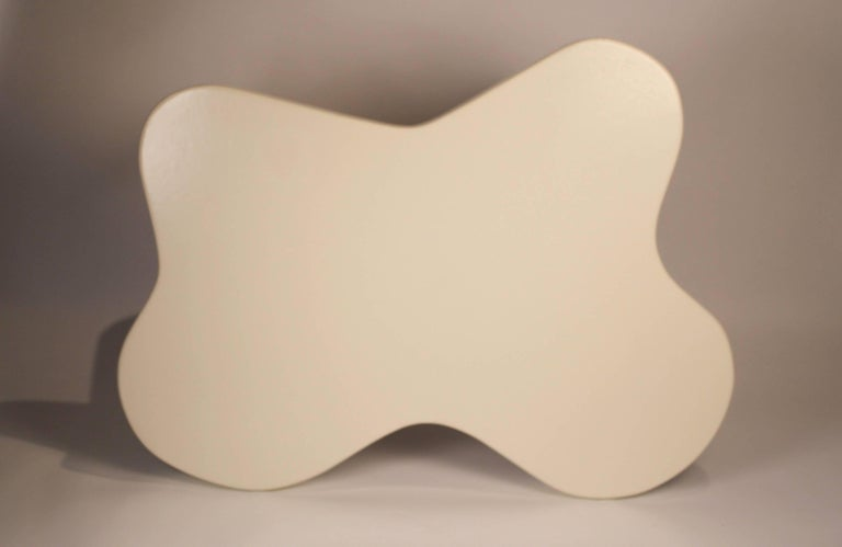 Paul Frankl Lacquered Cork 'Amoeba' Cocktail Table In Good Condition For Sale In Dallas, TX