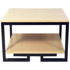 Paul Frankl Lacquered Cork Table