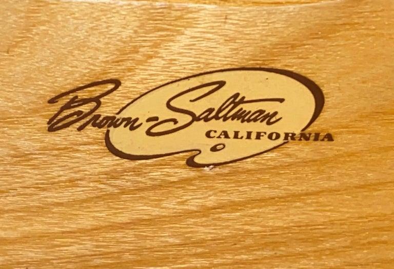 Metal Paul Frankl Mid Century Eight-Drawer Oak Dresser for Brown-Saltman For Sale