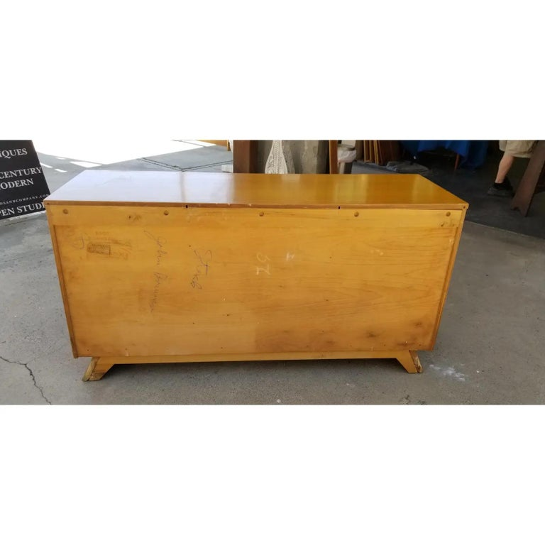 Wood Paul Frankl Mid-Century Modern Credenza For Sale