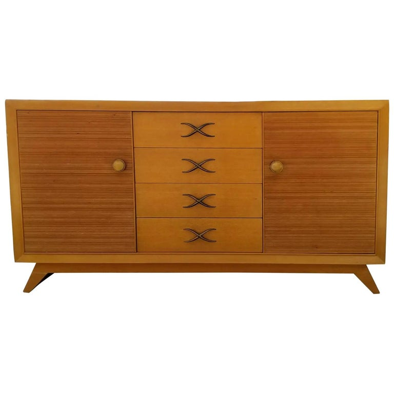 Paul Frankl Mid-Century Modern Credenza For Sale