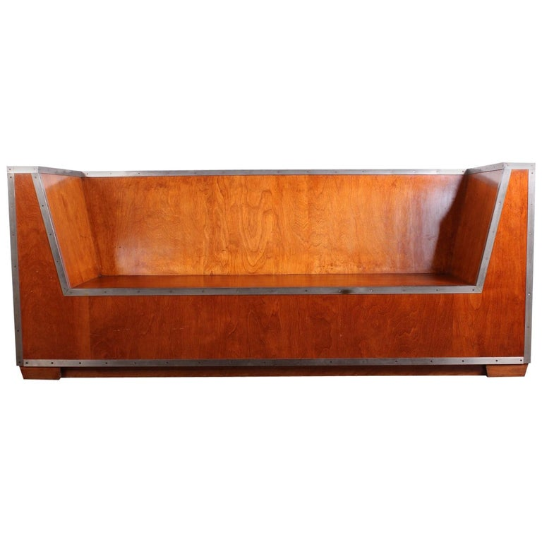 Paul Frankl Sofa Exhibited at the 1933-1934 Chicago World's Fair For Sale