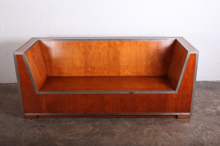Paul Frankl Sofa Exhibited at the 1933-1934 Chicago World's Fair In Good Condition For Sale In Dallas, TX
