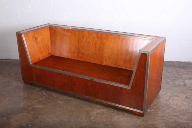 Mid-20th Century Paul Frankl Sofa Exhibited at the 1933-1934 Chicago World's Fair For Sale