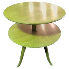 Paul Frankl Tiered Midcentury Side or Occasional Table for Saltman Brown