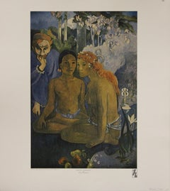 Contes Barbares-Poster. Haddad's Fine Arts.