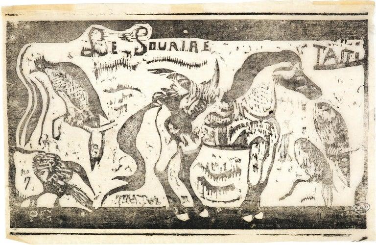 """Paul Gauguin Figurative Print - Titre pour """"Le Sourire"""""""