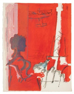 Composition - Original Lithograph by Paul Guiramand - 1926