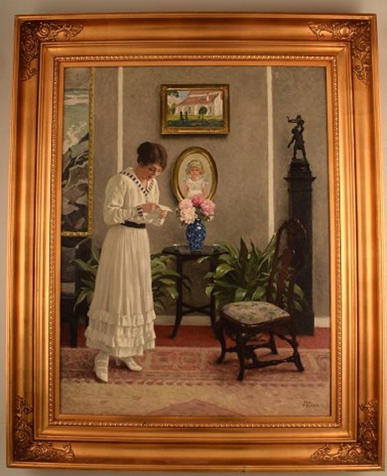Paul Gustav Fischer (1860-1934), Denmark. Oil on canvas.