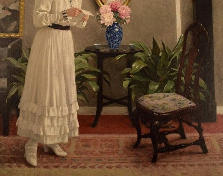 Paul Gustav Fischer '1860-1934', Denmark, Oil on Canvas,
