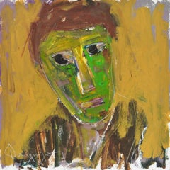 Face in Green