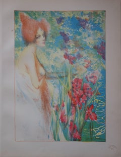 May Flower - original lithograph (1897-1898)