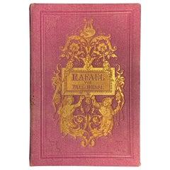 Paul Heyse 'Rafael' Eine Novelle in Versen, Verlag Kröner, Stuttgart, 1863
