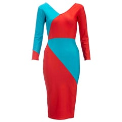 Paul Howie 1980s Vintage Lycra Panel Dress