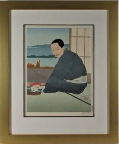 Pecheur de Sawara, Japon (Fisherman of Sawara, Japan)