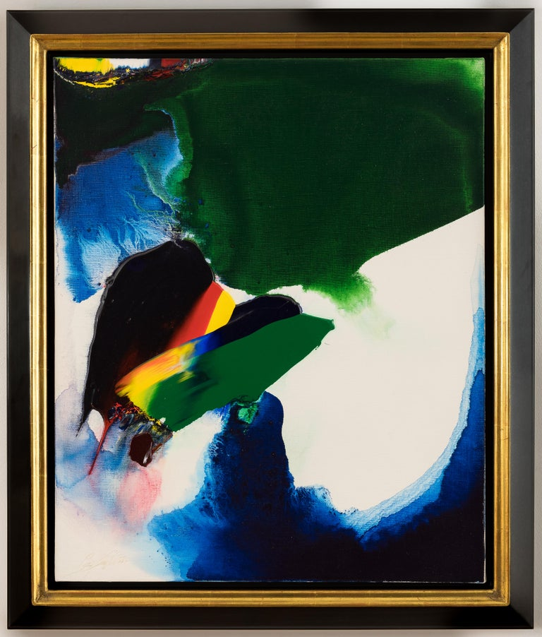 Paul Jenkins Abstract Painting - Phenomena like Byron by PAUL JENKINS - Abstract Expressionist, colour