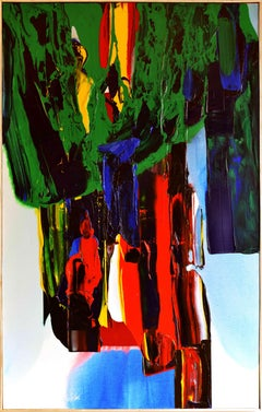 Phenomena Once was Forever is by Paul Jenkins - Abstract Expressionist painting