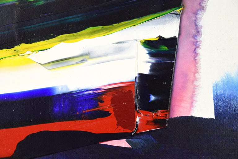 Phenomena Prism Shadow, PAUL JENKINS - Acrylic, Abstract, Contemporary For Sale 3
