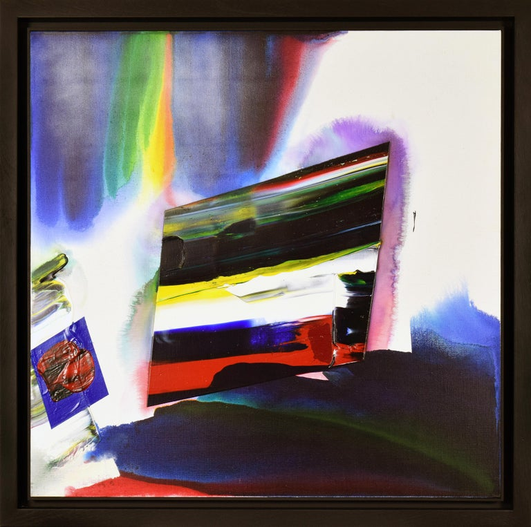 PAUL JENKINS (1923-2012)  Phenomena Prism Shadow   Acrylic on canvas 99 x 99 cm (39 x 39 inches) Signed lower left, Paul Jenkins Signed, titled and dated on the reverse Executed in 1986  Provenance Irving Galleries, Palm Beach, Florida Private