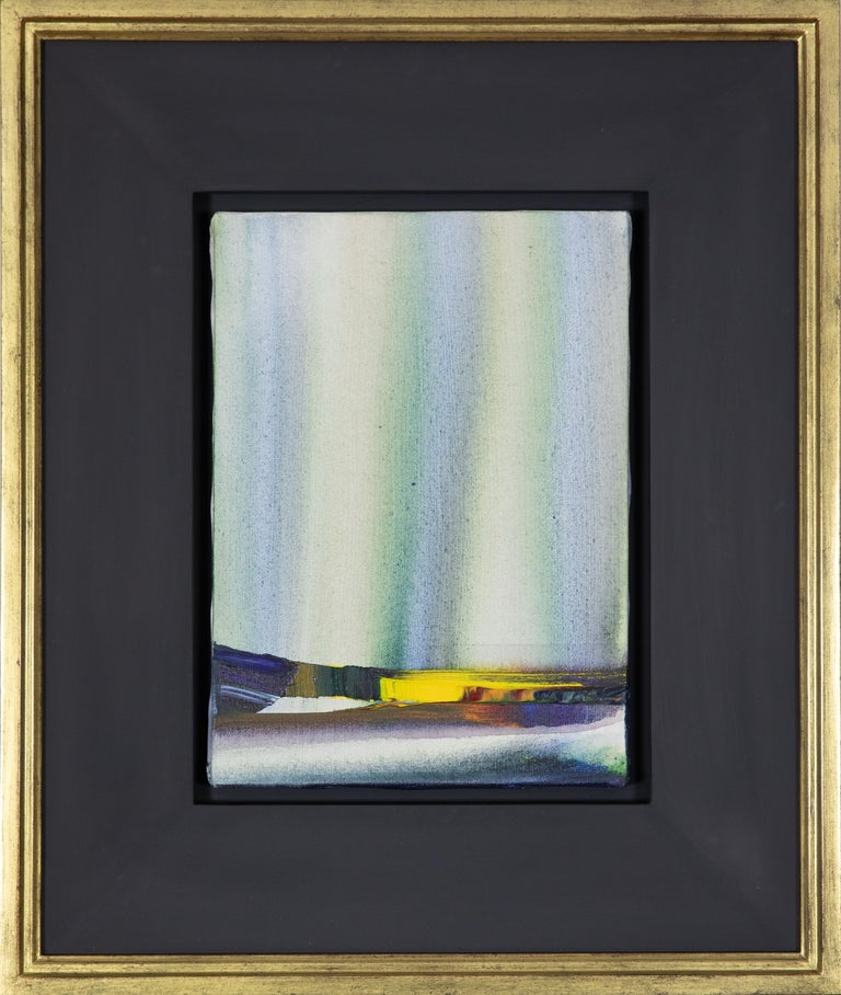 Horizon Line by Paul Jenkins (1923-2012)  Oil on canvas 32.5 x 24 cm (12 ³/₄ x 9 ¹/₂ inches) Signed Paul Jenkins, titled and dated Paris 1984 on the reverse  Provenance Private collection, France, acquired directly from the artist Private