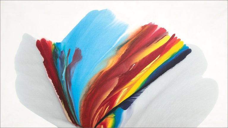 Paul Jenkins Abstract Painting - Untitled