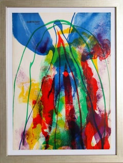 """Paul Jenkins, """"Earth Day,"""" Lithograph, 1971"""