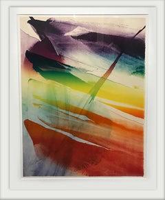 Phenomena Franklin's Kite, Lithograph by Paul Jenkins