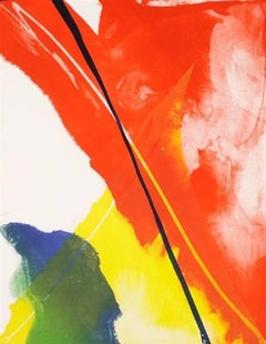 Untitled (Abstract Composition), Hand-signed limited edition lithograph