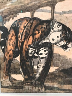 Gravure Panthere 1