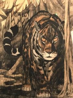 Gravure Panthere 2