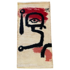 Paul Klee Abstract Wool Rug Wall Tapestry Limited Edition of 2500