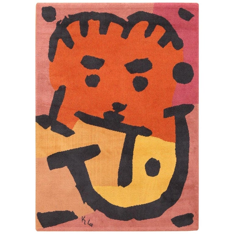 Paul Klee rug, mid-20th century