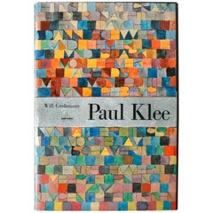 """Paul Klee"" by Will Grohmann, First Edition Book"
