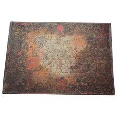 """Paul Klee """"Garten Vision"""" 1925 Danish Wool MCM Rug by Ege"""