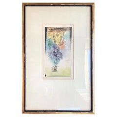 """Paul Klee """"Lamb of God Take Away the Sins of the World"""" Framed Lithograph"""