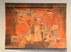 Chaos Méquanique - Original Lithograph by P. Klee - 1964