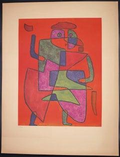 Der Kunftige (Arrival of the Bridegroom) - Collotype Print after P. Klee