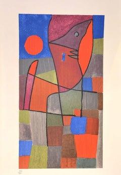 Palesio Nua- Original Lithograph by P. Klee - 1960