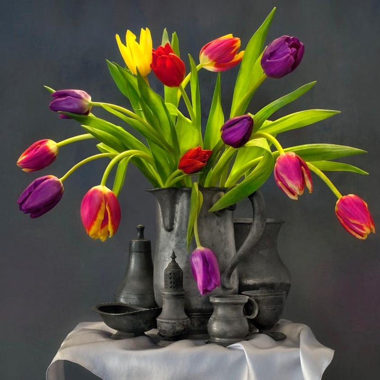 The Tower: Still Life, Limited Edition, 30 x 30 inch Photograph by Paul Knight For Sale 1