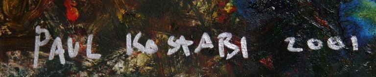 Y2K NYC - Painting by Paul Indrek Kostabi