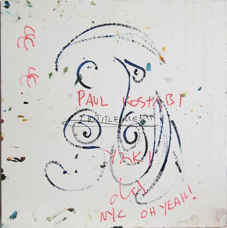Y2K NYC - Abstract Painting by Paul Indrek Kostabi