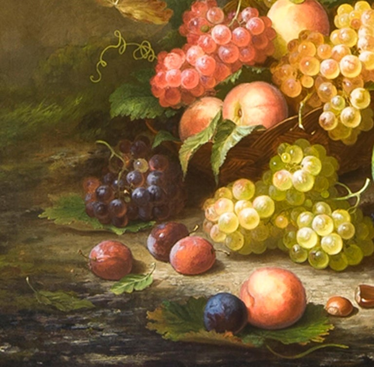 Still Life in a Landscape - American Realist Painting by Paul LaCroix