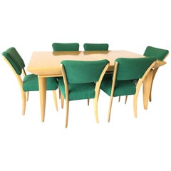 Paul Laszlo Brown Saltman Dining Set