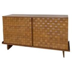 Paul László, Dresser / Chest of Drawers, Oak, Brown Saltman United States, 1950s