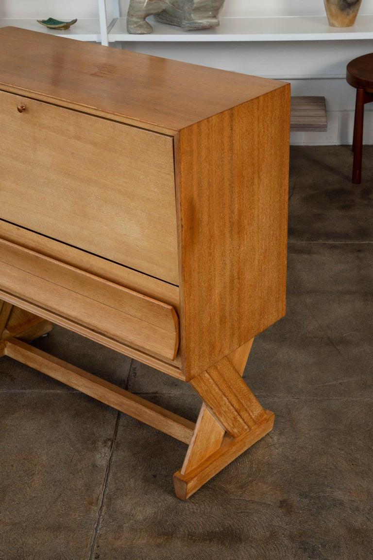 Paul Laszlo Liquor Cabinet for Brown Saltman For Sale 3