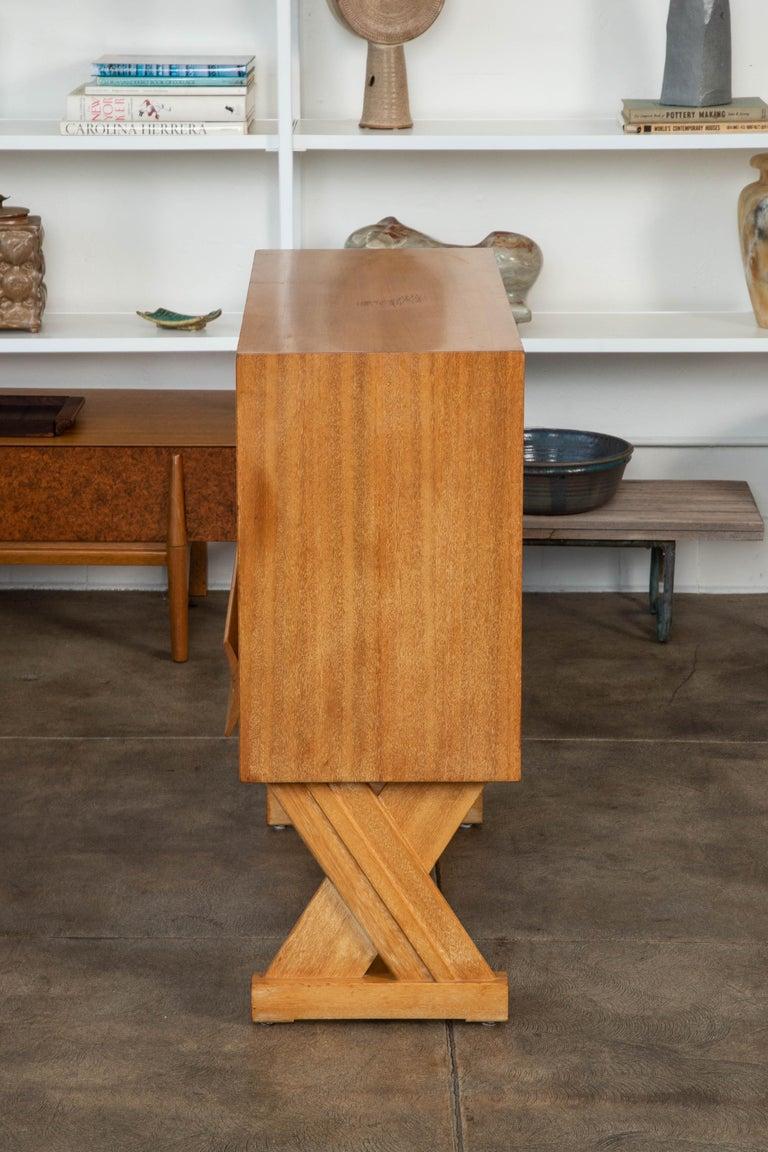 Mid-20th Century Paul Laszlo Liquor Cabinet for Brown Saltman For Sale