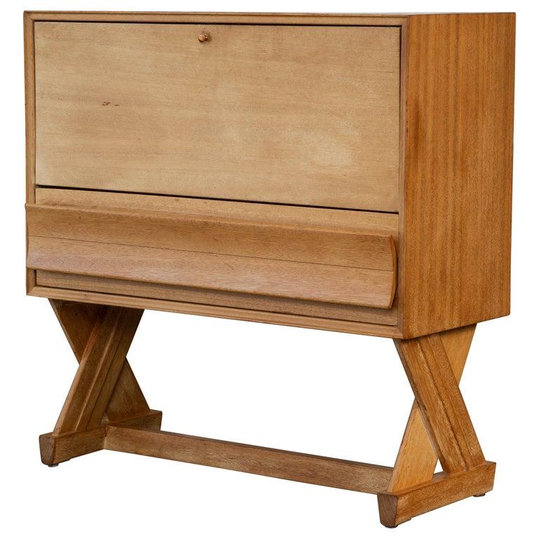 Paul Laszlo Liquor Cabinet for Brown Saltman For Sale