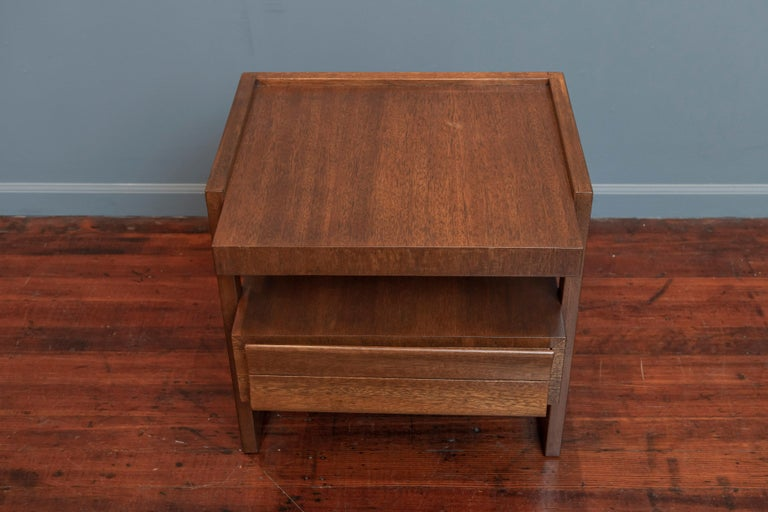 Mid-20th Century Paul Laszlo End Table for Brown Saltman For Sale