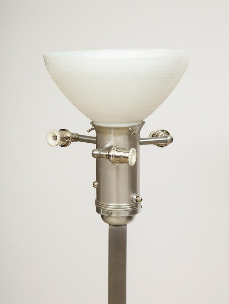 Paul Laszlo Floor Lamp In Good Condition For Sale In New York, NY