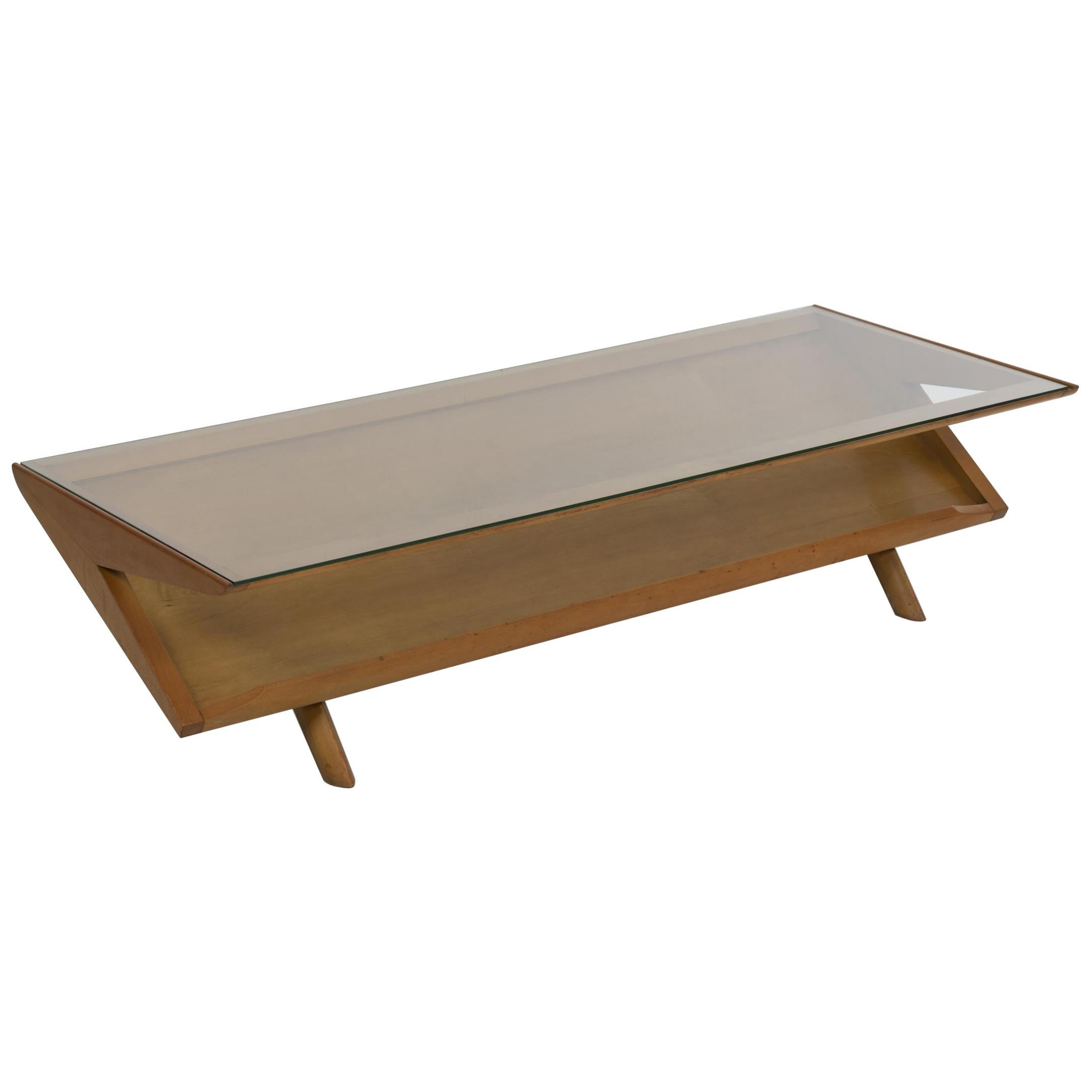 Paul Laszlo for Brown and Saltman Display Coffee Table